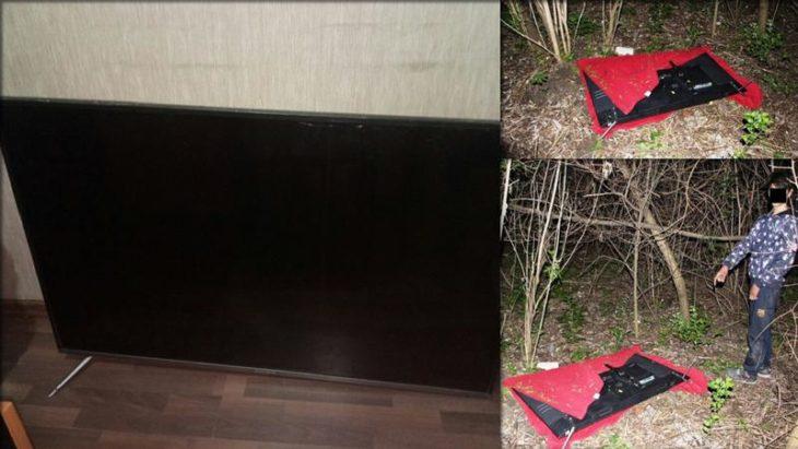 Au furat două televizoare dintr-un local