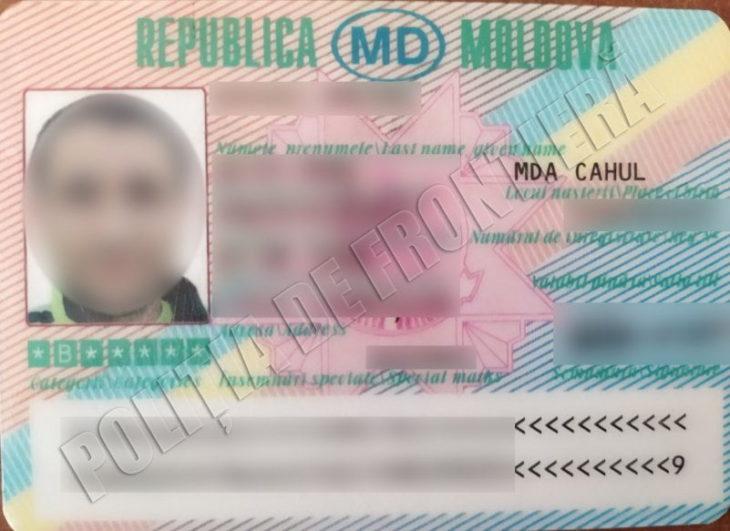 permis de conducere fals