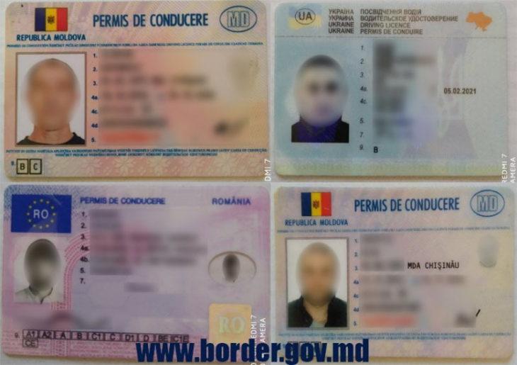 Zece acte false ridicate de Polițiștii de Frontieră, inclusiv și la Giurgiulești