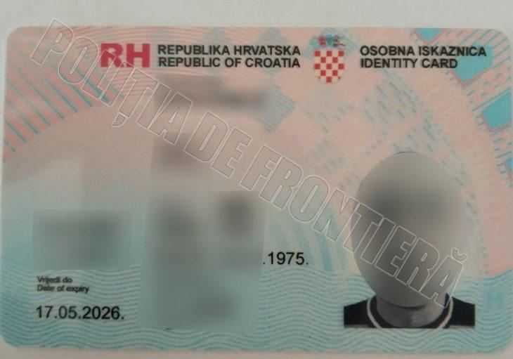 Un locuitor din satul Pelinei a încercat să treacă frontiera cu acte falsificate