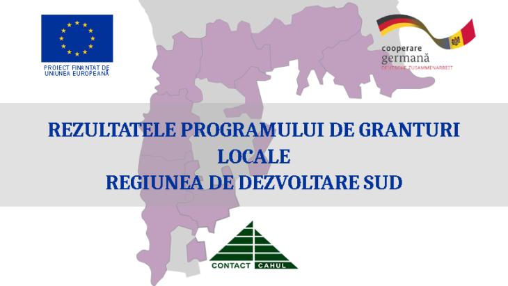 Sute de mii de euro urmează a fi investiți în dezvoltarea comunităților din Regiunea de Dezvoltare Sud