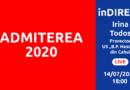 inDIRECT despre Admiterea 2020
