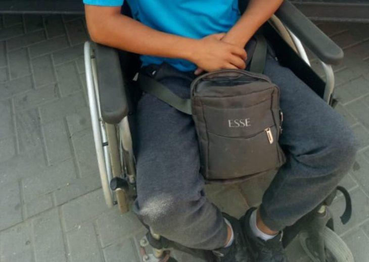 """""""Miracol"""" la Cahul. Un tânăr, după întâlnirea cu polițiștii, s-a sculat din scaunul cu rotile și a început să meargă"""