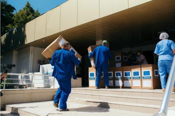 Centrele de sănătate din Cahul şi Ungheni vor primi ajutoare de la UE şi UNICEF
