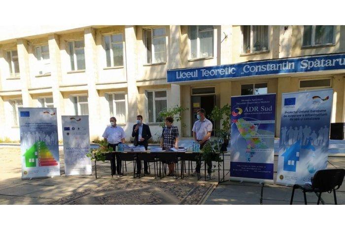 La Leova vor fi implementate două proiecte de infrastructură finanţate de UE