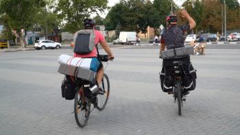 UE – GIZ // S-au pornit cu bicicletele pe urma banilor europeni investiți în raionul Cahul // FOTO