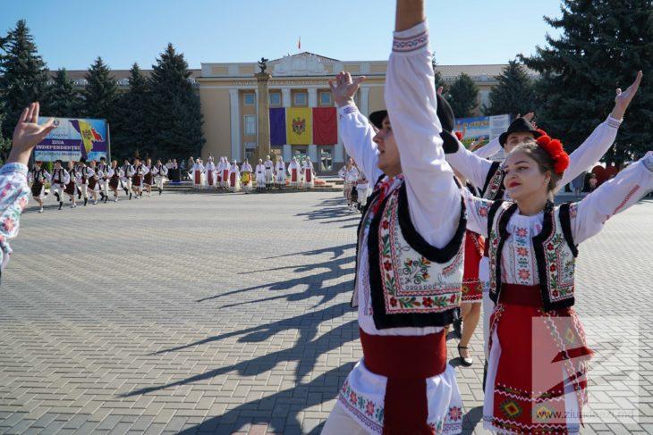 Reportaj Foto // Cum a fost marcată Ziua Independenței la Cahul
