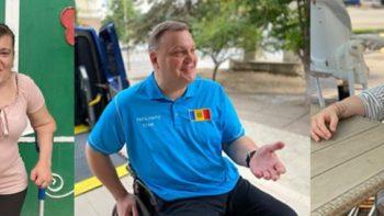 Trei istorii motivaționale despre persoane cu nevoi speciale din Moldova