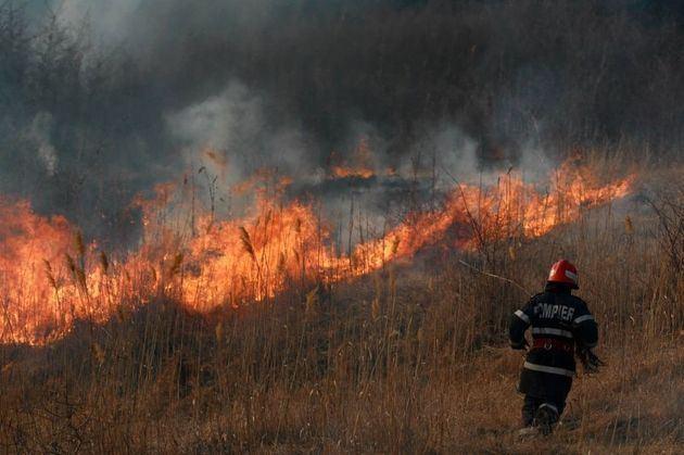 Pompierii atenționează! Se înregistrează, un număr sporit de arderi necontrolate