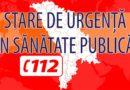 A fost instituită starea de urgență în sănătate publică pe unități teritorial-administrative