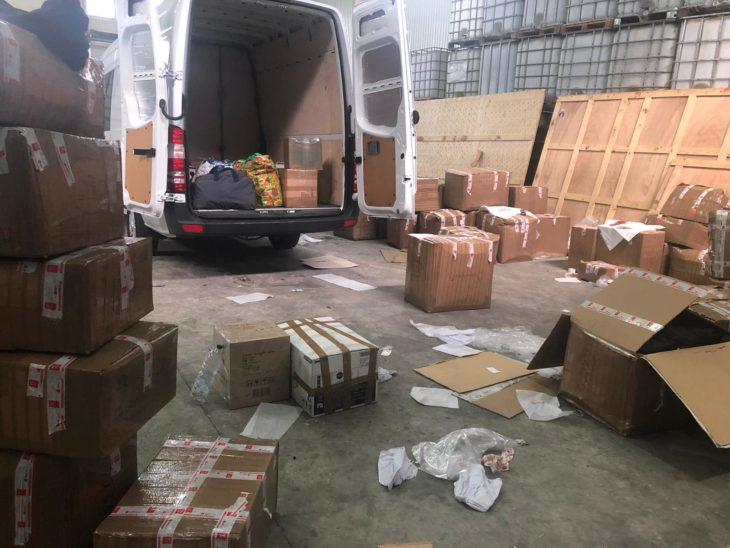 Contrabandă în valoare de peste 800 mii lei, depistate de angajații Serviciului Vamal Giurgiulești//FOTO
