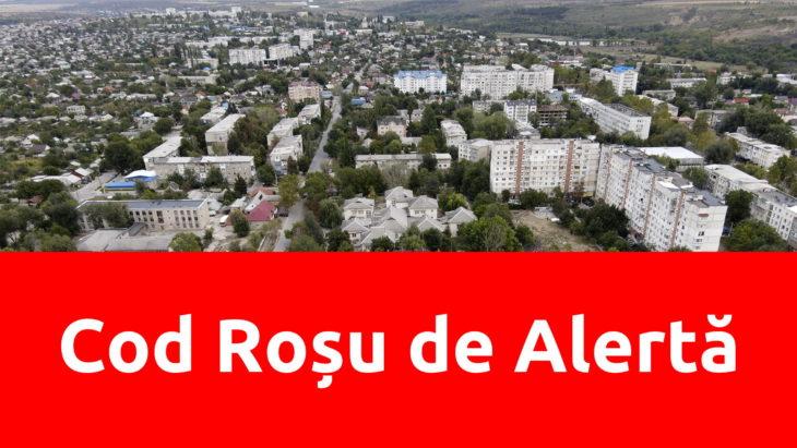 În 35 de unități teritorial-administrative  din ţară, printre care și raionul Cahul a fost anunţat Cod Roșu de alertă