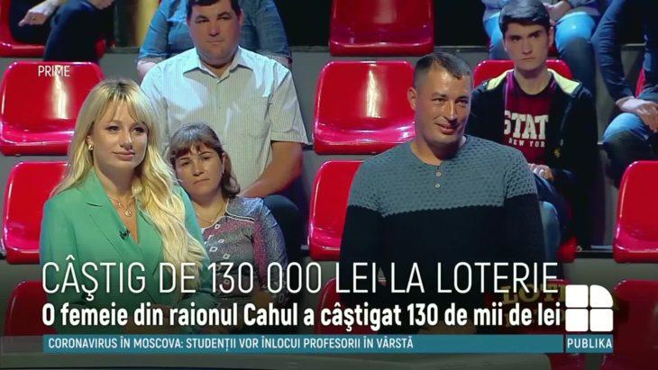 Câştig fabulos la Loteria Naţională! O femeie din raionul Cahul a plecat acasă cu 130.000 de lei/VIDEO