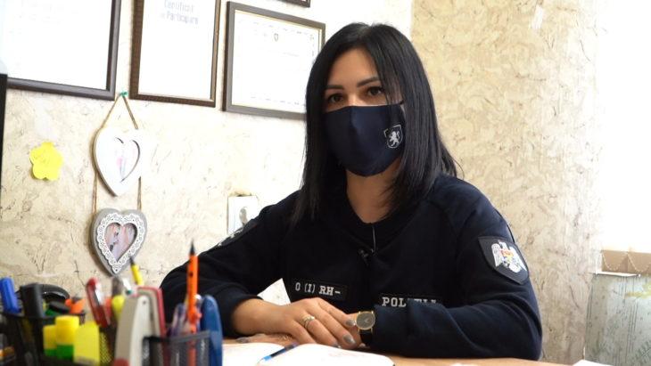 Polițista care lucrează cu tinerii // VIDEO