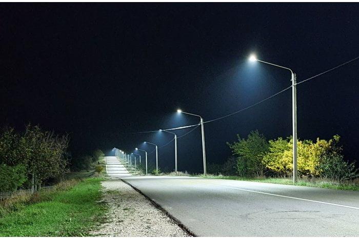 În sudul țării a fost finalizată restabilirea iluminatului stradal pe drumul național M3