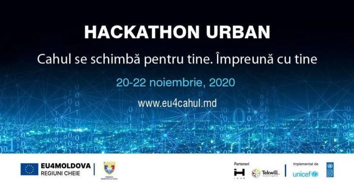 """Hackathon Urban """"Cahul se schimbă pentru tine. Împreună cu tine"""""""