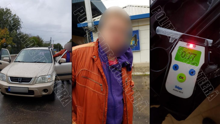 Șofer beat, reținut în PTF Mirnoe după ce a încercat să fugă