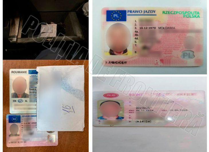 Patru documente falsificate, depistate la trecerea frontierei moldo-române