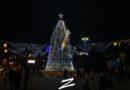 Vezi cum arată pomul de Crăciun al municipiului Cahul // VIDEO