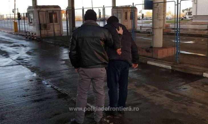 Moldovean, condamnat la pușcărie, prins de poliția de frontieră română în timp ce încerca să fugă din țară