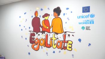 VIDEO // Tinerii din Cahul au învățat despre combaterea violenței împotriva femeilor și copiilor prin artă