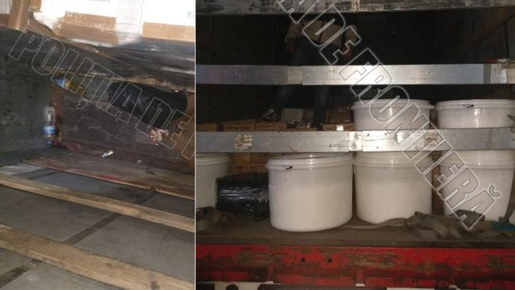 Doi minori din Egipt au fost depistați într-un camion marfar la vama Giurgiulești-Galați/VIDEO