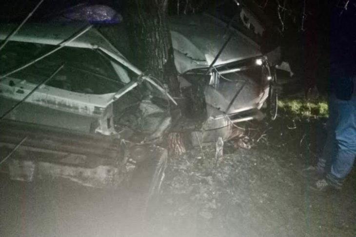 Tânăr rănit grav la Cantemir. A intrat cu mașina într-un copac