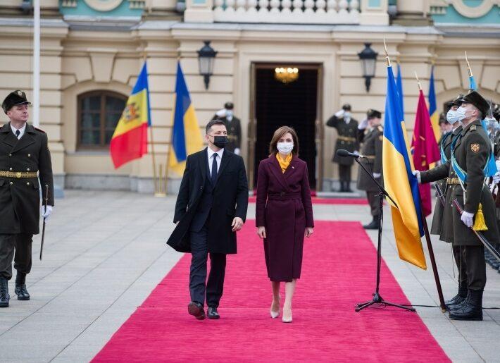 Președinții R. Moldova și Ucrainei au semnat mai multe documente bilaterale