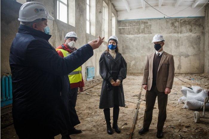 Gimnaziul din Feşteliţa, Ștefan Vodă, este reparat capital cu susținerea USAID