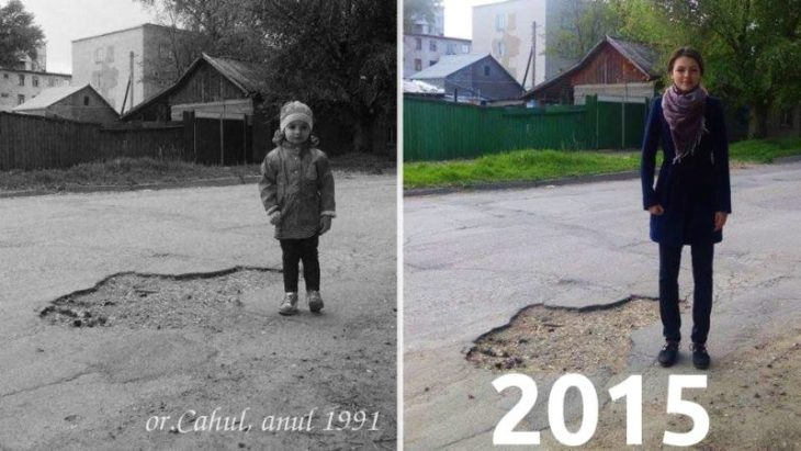 Gropile oraşului Cahul – cele mai virale pe internet