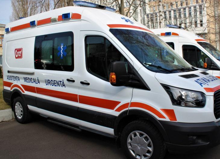 16 Substații de asistență medicală urgentă din țară inclusiv și Cahul au primit ambulanțe noi