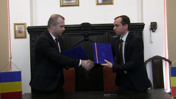 Cahul și Galați au semnat un acord de colaborare