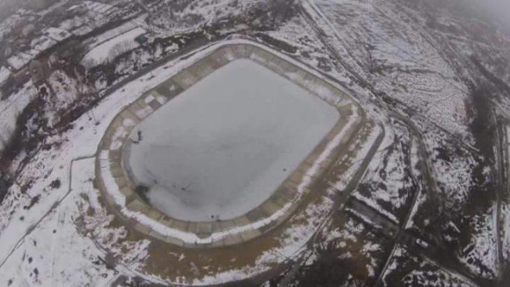S-a spart gheața Lacului Sărat?