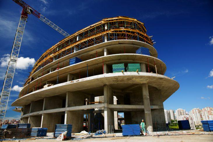 În 2020 a scăzut numărul de clădiri construite