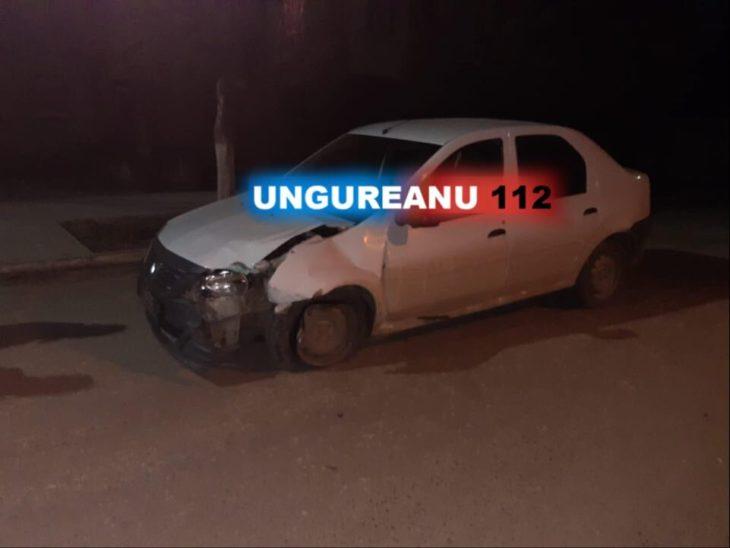 Fără permis și beat la volan a accidentat o mașină de poliție