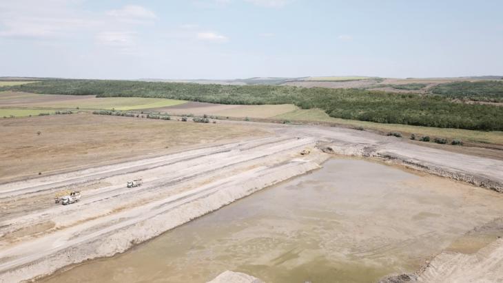 Lucrările de construcție a sectorului de drum Porumbrei – Cimișlia sunt îndeplinite în volum de 41%