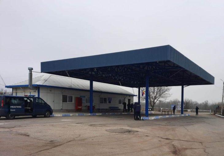 Punctul de trecere a frontierei Vulcăneşti-Vinogradovka îşi reia activitatea