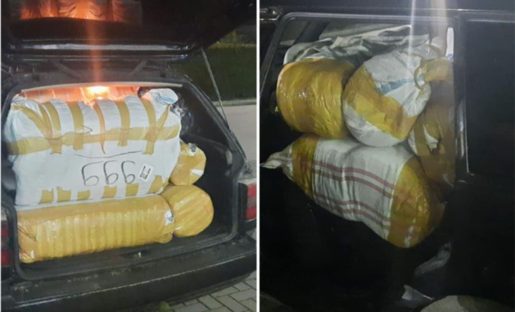 Bunuri în asortiment, transportate ilegal depistate de DR Sud la intrarea în Cîșlița-Prut /VIDEO