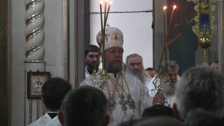 Mitropolitul Valdimir oficiază serviciul divin de Hramul mun. Cahul