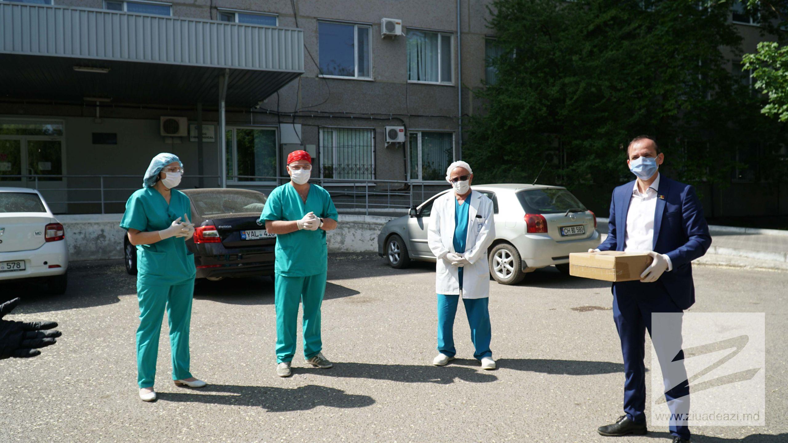 Cahulenii de pretutindeni donează un videolaringoscop pentru Spitalul din Cahul