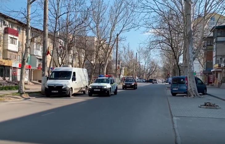 Poliția îndeamnă Cahulenii să stea acasă