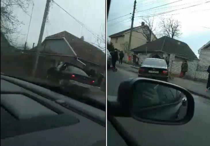 Doi șoferi au ajuns cu mașinile în garduri, la Cahul. S-a întîmplat la nici două ore distanță