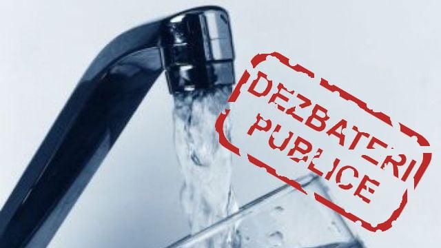 Societatea civilă solicită audieri publice privind majorarea tarifelor la apă!