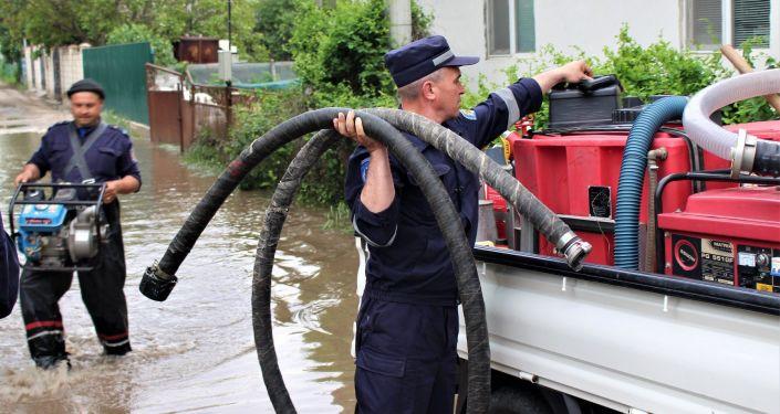 Prejudicii în urma ploilor torențiale și în raionul Cahul