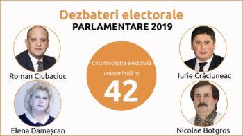 Dezbateri electorale dintre candidații CEU nr. 42 Cantemir. Emisiunea I