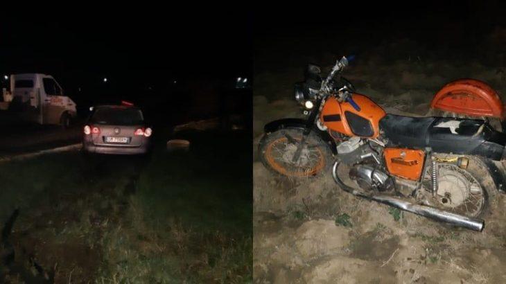 Grav accident la Cahul. Un motociclist a fost lovit mortal de un Volkswagen