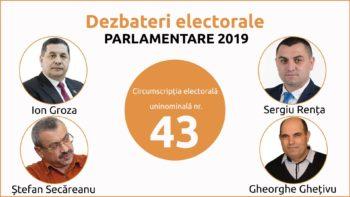 Dezbateri electorale dintre candidații CEU nr. 43 Cahul. Emisiunea II