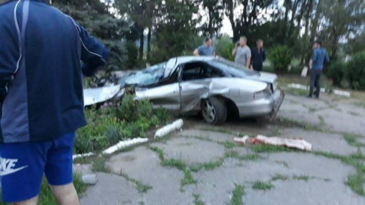 Accident mortal la Cahul. Un bărbat a decedat după ce a lovit sensul giratoriu de la intrarea în oraș