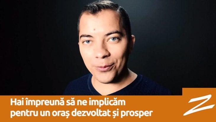 Alexandr Popov: Hai împreună să ne implicăm pentru un oraș dezvoltat și prosper