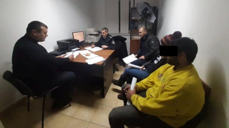 La Cahul au fost reținuți doi cetățeni străini,care au intrat ilegal în țară